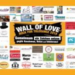 Neuer Rekord: Die größte Wall of Love ever!