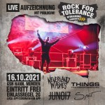 Aufzeichnung mit Publikum! - Rock for Tolerance Streaming Concerts