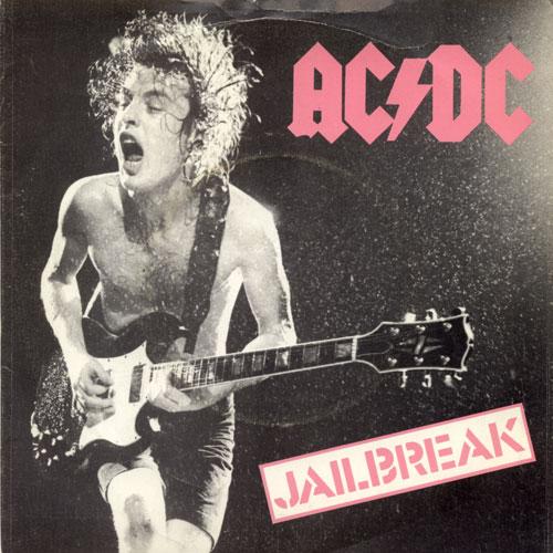 ACDC Jailbreak Fling Thing Single 1980 Vinyl Record UK