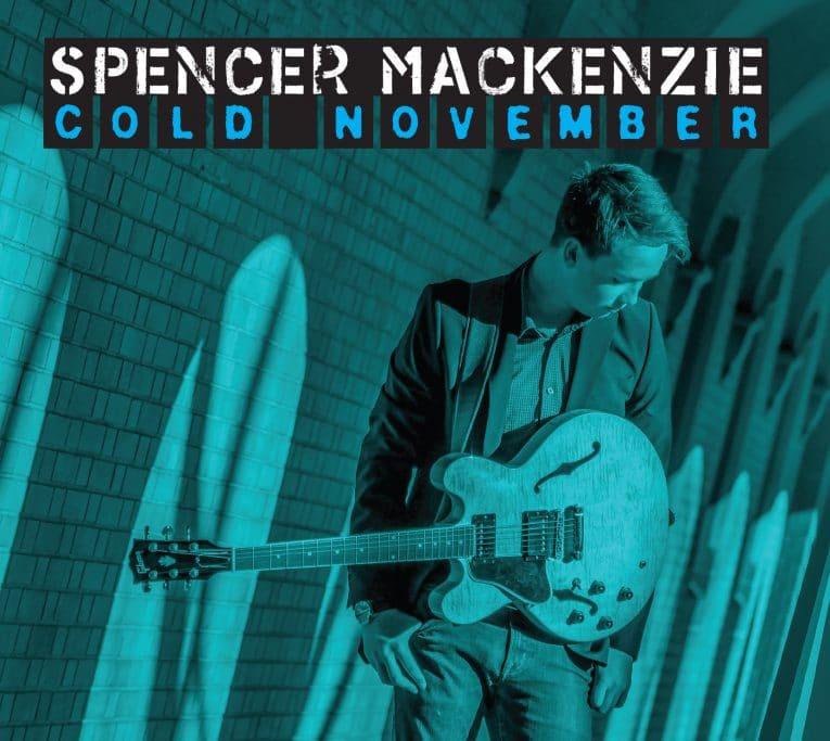 Album review, Cold November, Spencer Mackenzie, Rock and Blues Muse