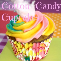cotton candy cupcakes rock and drool