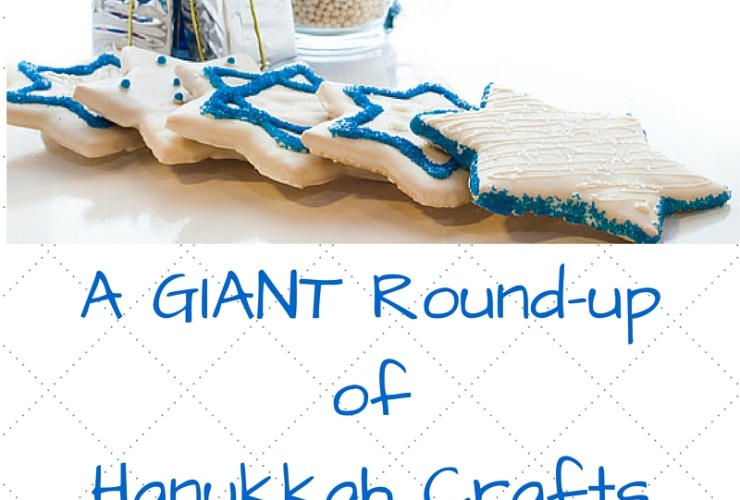 Giant Round Up of Hanukkah Crafts for Kids
