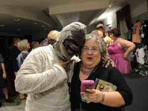 Anita Stewart and Ra Mummy