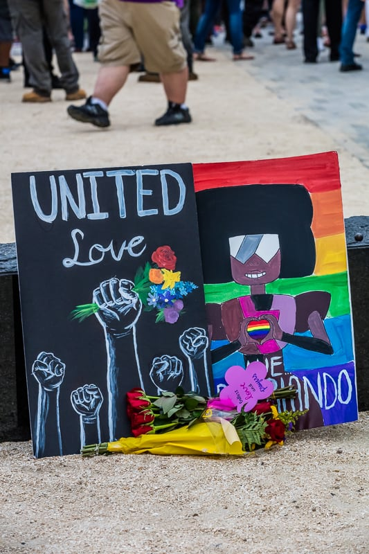Vigil-Orlando, Florida-June 13, 2016 –Photo: Vicki DiAddezio