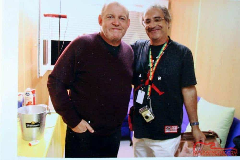 WIth the unforgettable JOE COCKER, another big name from Woodstock!