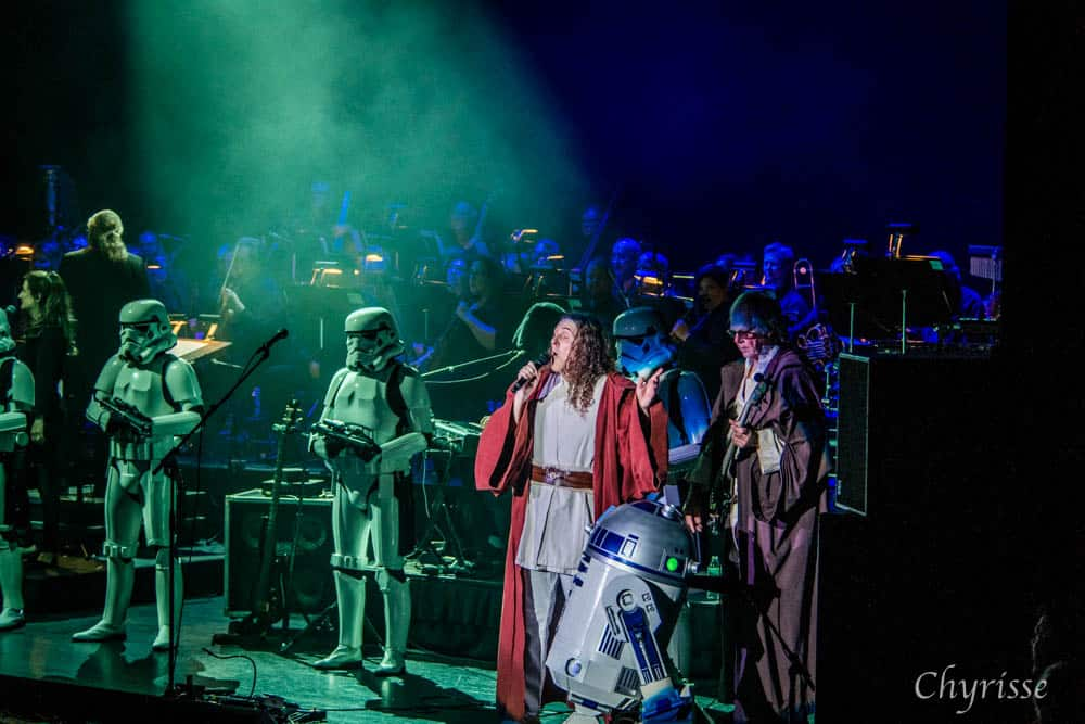 """""""Weird Al"""" Yankovic and the Stormtroopers"""