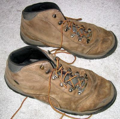 Old Hi-TeC Hiking Boots