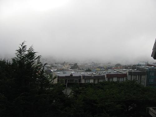 The fog returns