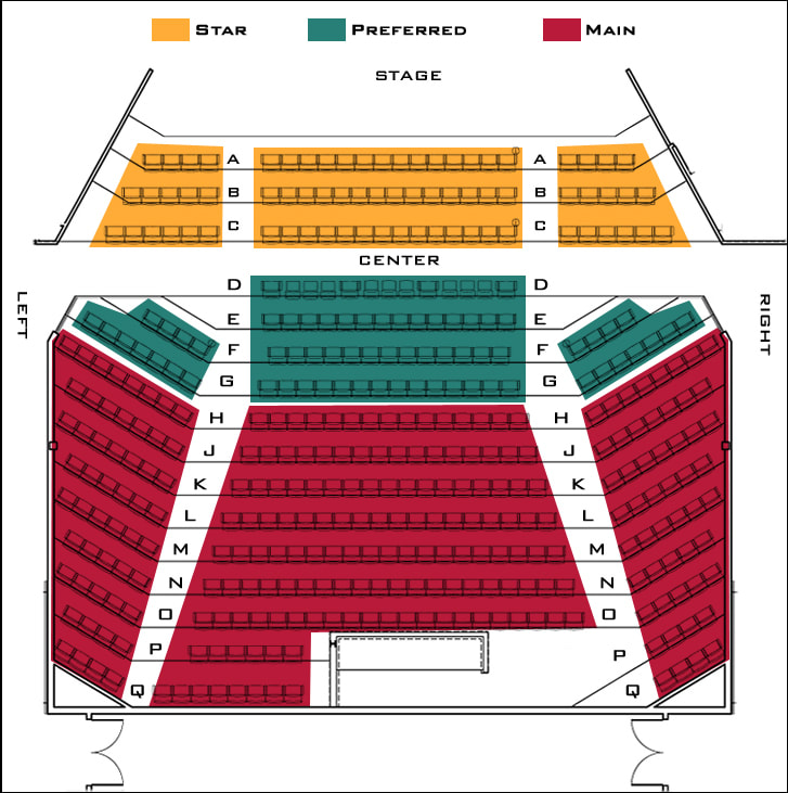 Seating Chart Rockbox Theater