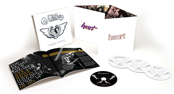 "Heart's box-set ""Strange Euphoria"" spans 4 decades with 3 CDs and 51 songs - half of which have never been released. Includes a rare live performance from 1976 on DVD."