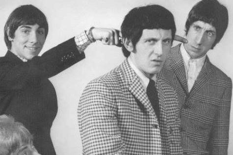 The Who having some fun