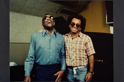 Ray Charles and Steve Rosen (Photo: Glen Laferman)