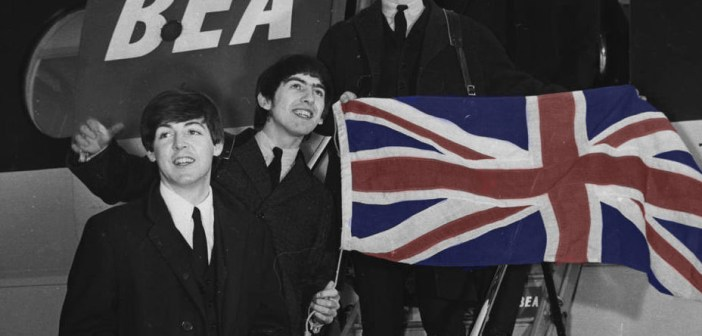 beatles uk flag