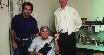 Photo: Rosen, Leo Fender and Hyatt (Glen Laferman)