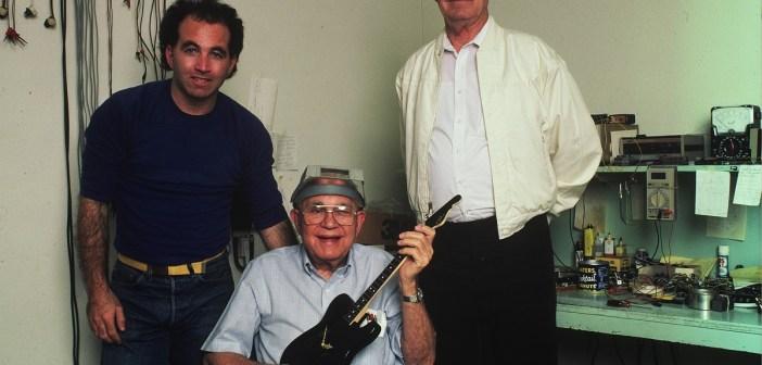 Photo:Rosen, Leo Fender and Hyatt (Glen Laferman)