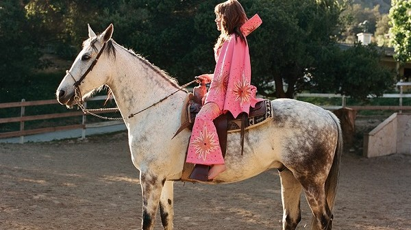 jenny lewis on a horse