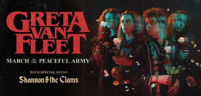 greta van fleet fall 2019 tour