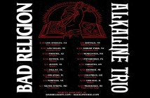 bad religion alkaline trio tour 2020