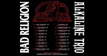 bad religion alkaline trio tour 2020