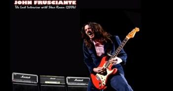john frusciante lost interview