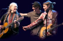 Willie Nelson, Micah Nelson, Lukas Nelson Farm Aid (Photo: Janis Tillerson)