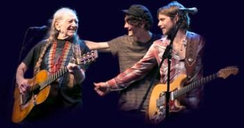 Willie Nelson, Micah Nelson, Lukas Nelson Farm Aid (Photo: Janis Tillerson)