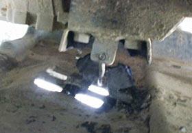 Jeep TJ transmission mount repair