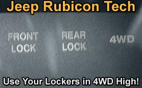 jeep rubicon locker bypass rockcrawler comrockcrawler com rh rockcrawler com Jeep Rubicon Rear Locker 2014 Jeep Wrangler Rubicon Lockers