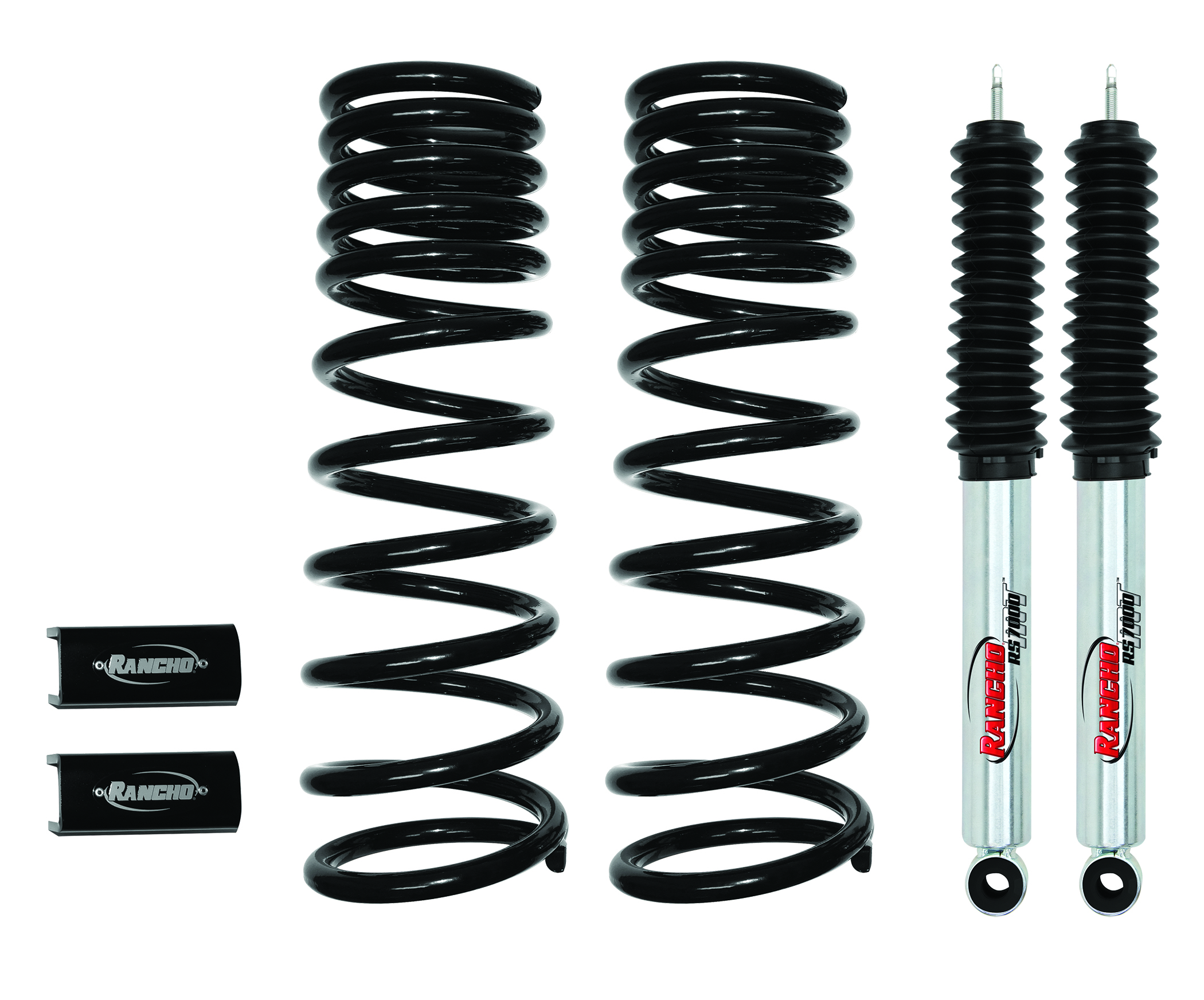 Rancho Introduces Level It Suspension Kit For Dodge Ram 2500 3500 Upgrade Rs7000mt Monotube Shocks Provide Resiliency Against Heat And Are Ideal Extreme Off Road Use Larger Wheel Tire Packages
