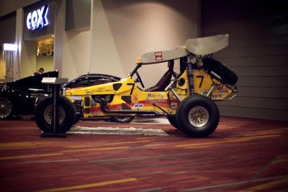 vintage race buggy