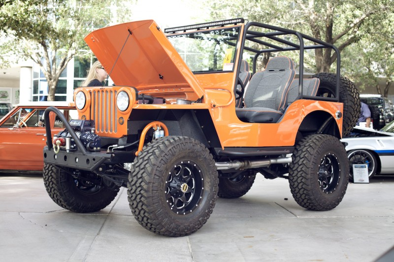 willys jeep sema