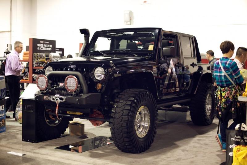 ARB jeep wrangler jk sema