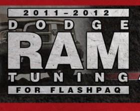 SuperChips Flashpaq 2011-2012 HEMI RAM