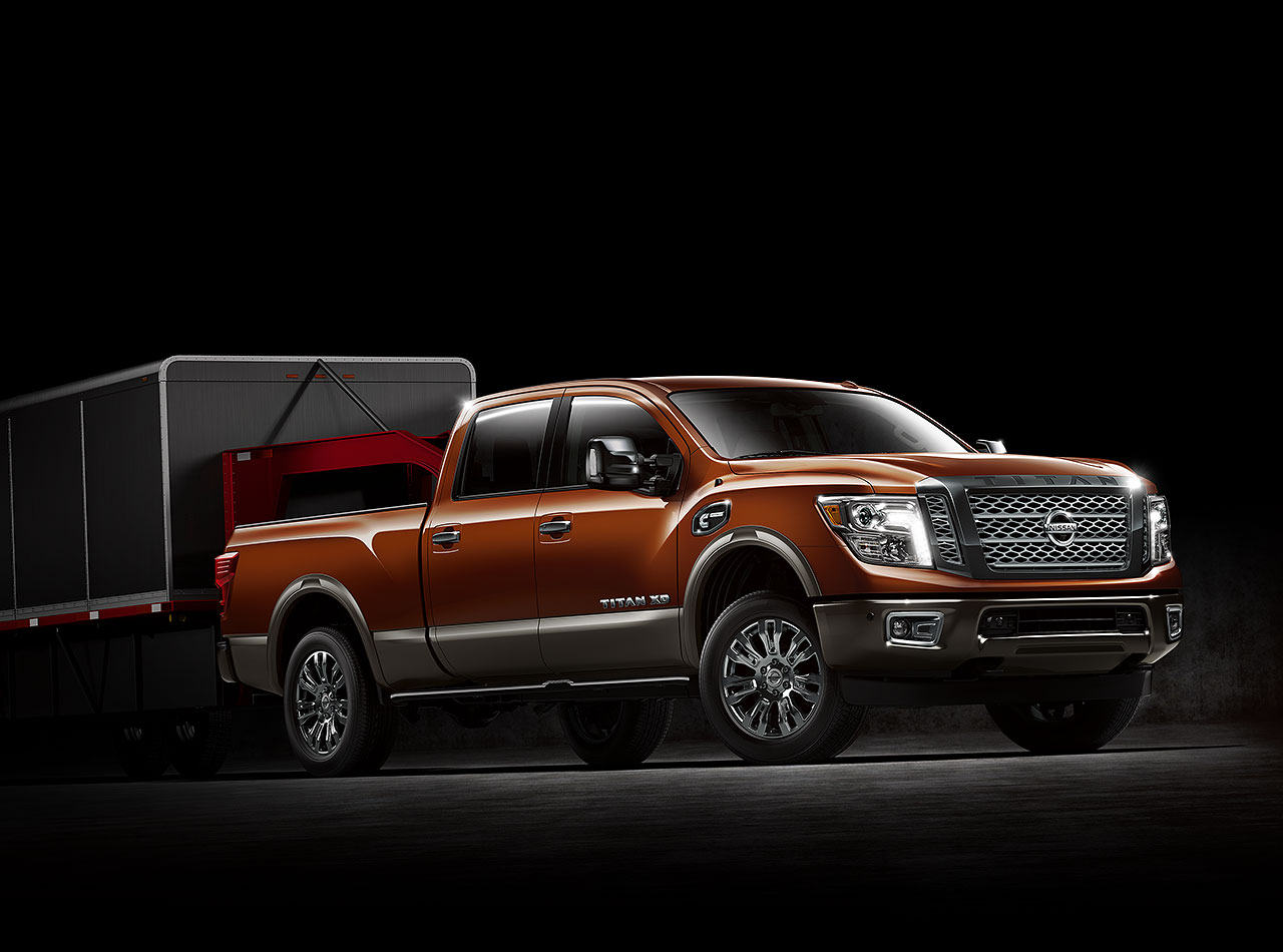 new nissan titan diesel pickup truck with cummins turbo diesel engine is the latest addition to. Black Bedroom Furniture Sets. Home Design Ideas