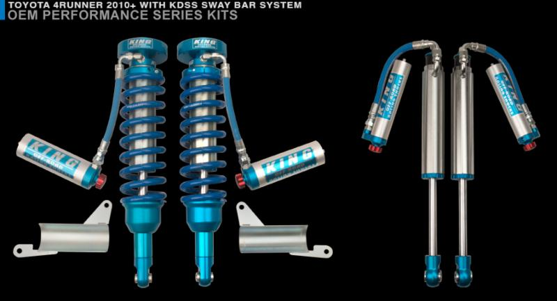 King Shocks Launches The 2 5 Remote Reservoir Coilover Kit