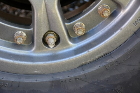 Rim scraping, Hutchinson DOT Beadlock Wheels - photo credit: Mike Davidson