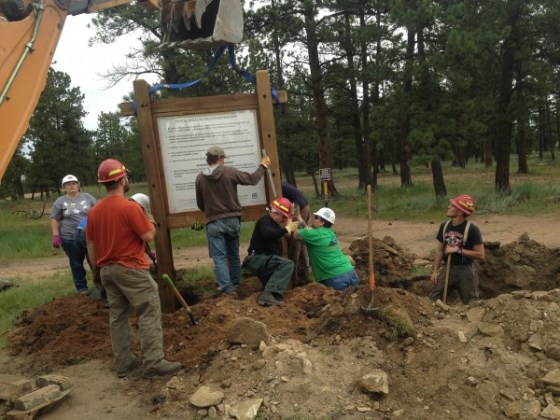 Stay The Trail making trail improvements via Rugged Ridge Trail Access Program grant