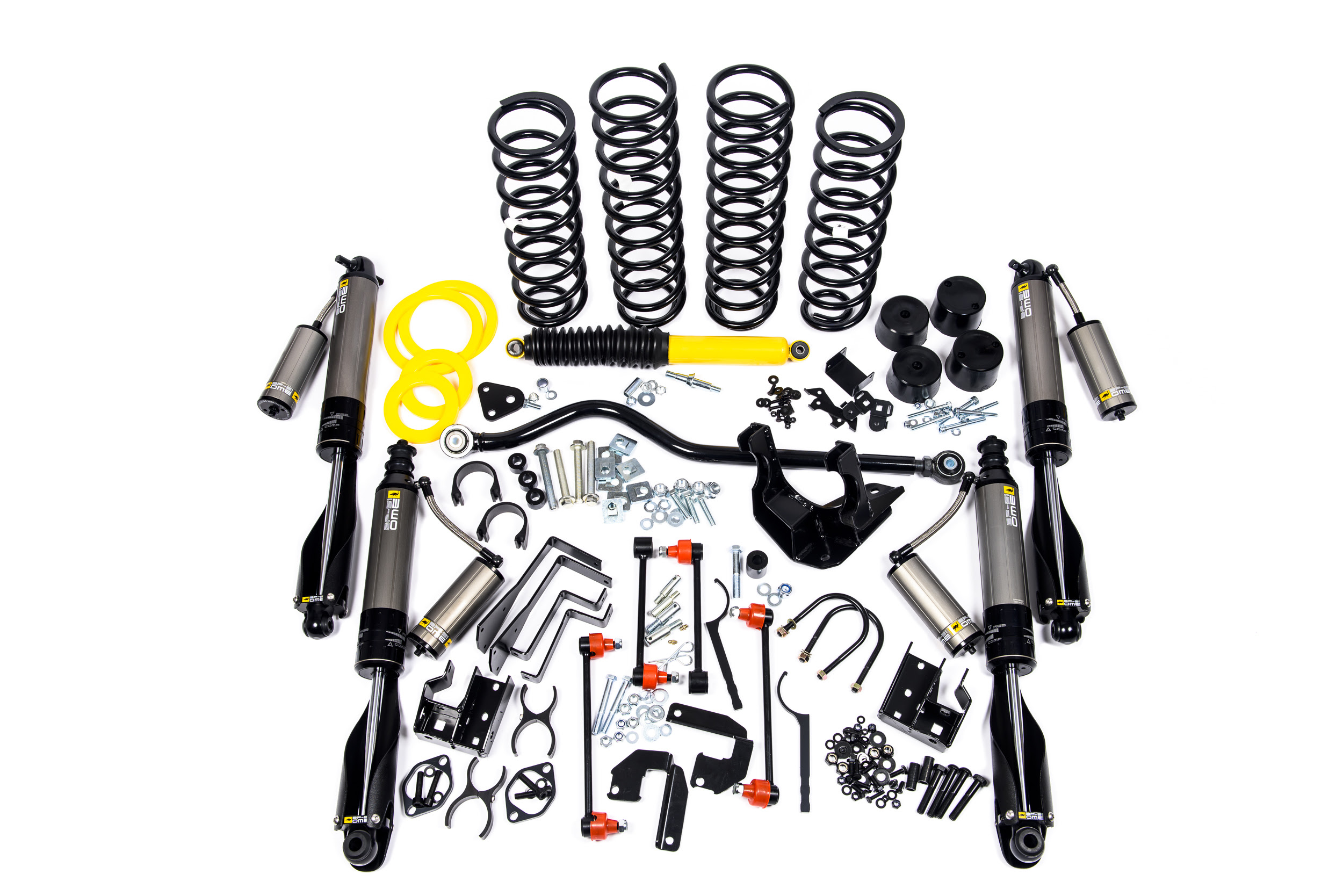 Jeep Wrangler Jk 4 Bp 51 Suspension Kit Rockcrawler
