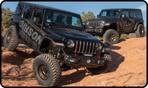 """the jl is a much more """"refined"""" vehicle compared to previous wranglers, and  with improved suspension geometry and more robust components this new jeep  sees"""