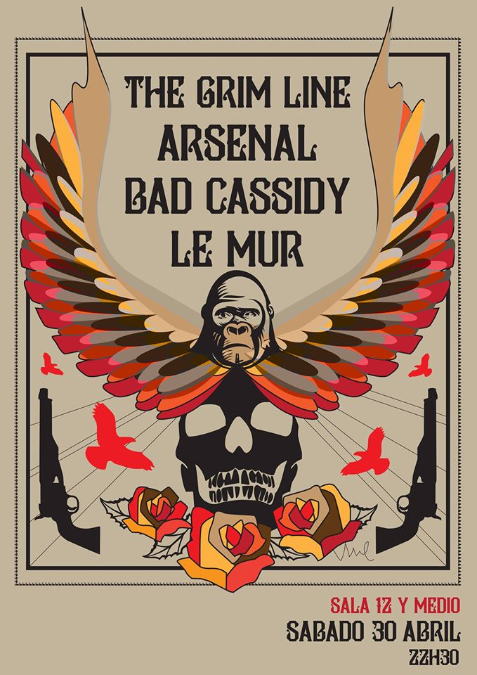 Bad Cassidy, Le Mur, Arsenal, The Grim Line
