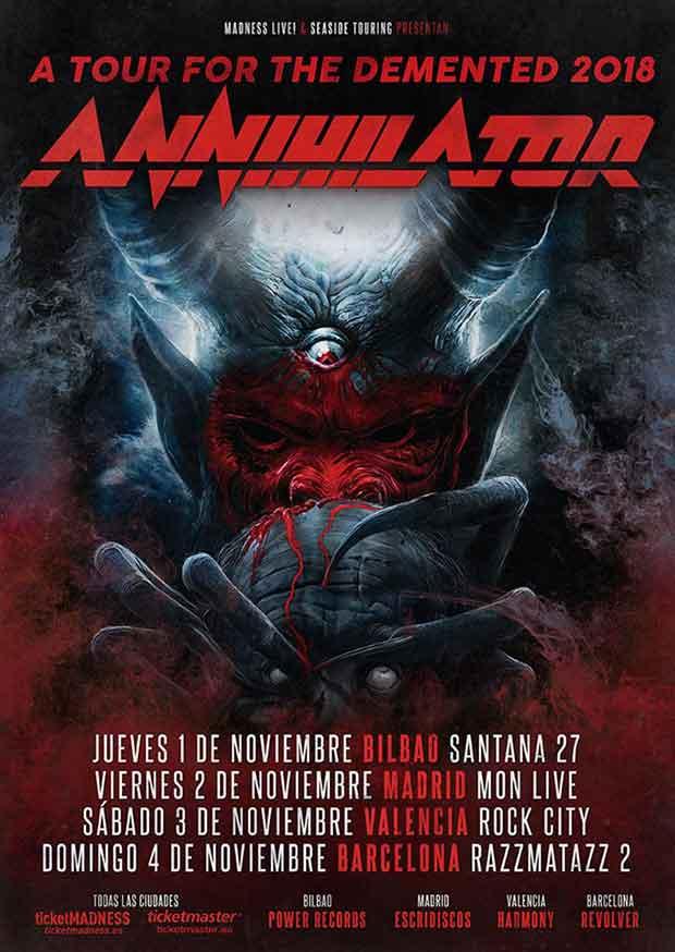 annihilator 2018