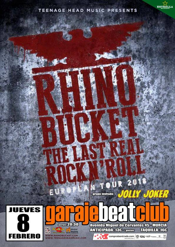 rhino bucket murcia