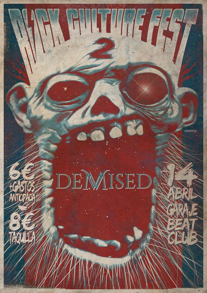 Demised rock culture fest