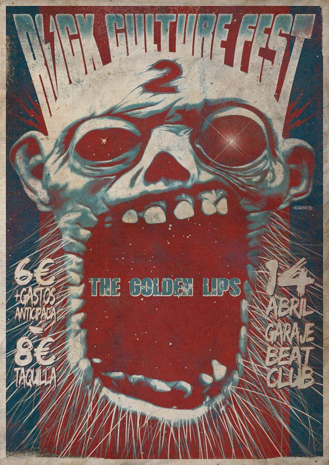 The Golden Lips rock culture fest