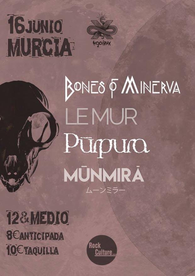 bones of minerva le mur purpura munmira murcia