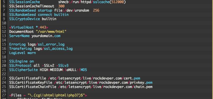 """วิธีปิดการให้บริการ SSLv3 บน Apache เพื่อป้องกันการโจมตีจากช่องโหว่ """"POODLE Attack""""  (Padding Oracle On Downgrade Legacy Encryption)  บท CentOS (CVE-20140-3566)"""