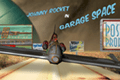 Johnny Rocket in Garage Space