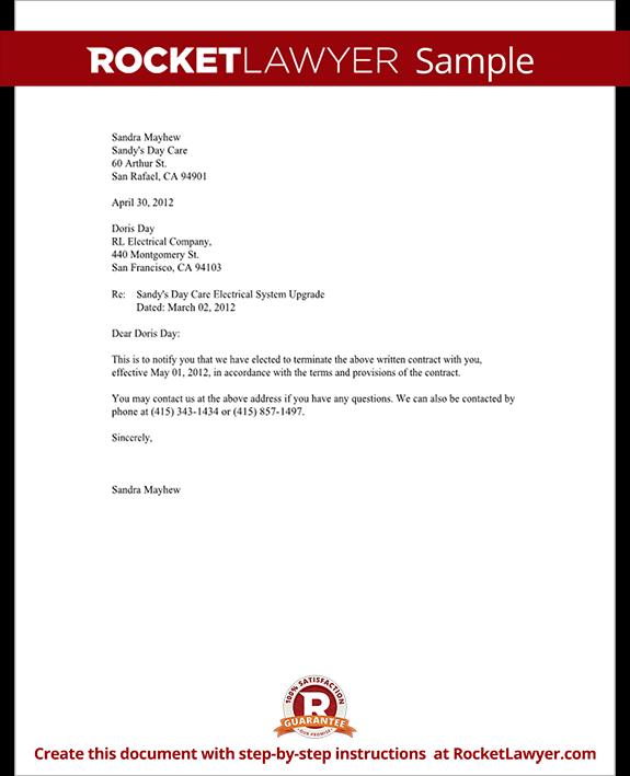 Vendor Forms Template service contract termination letter sample – Vendor Form Template