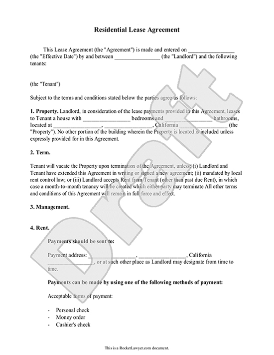 Car Lease Agreement Template. sample vehicle lease agreement ...