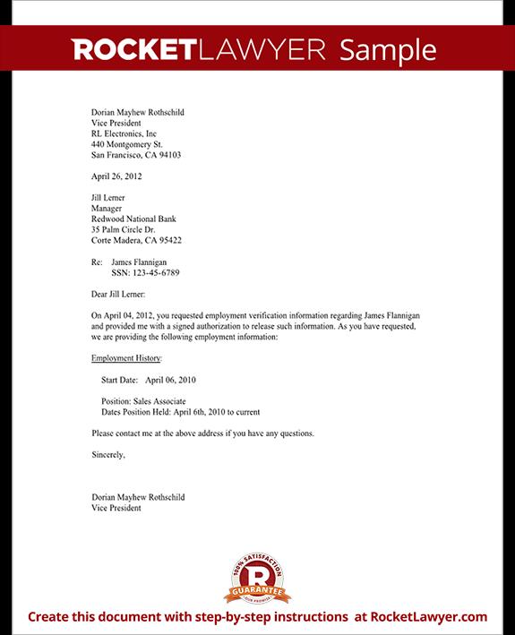 Doc12751650 Landlord Verification Letter Sample Doc24963232 – Tenant Verification Letter